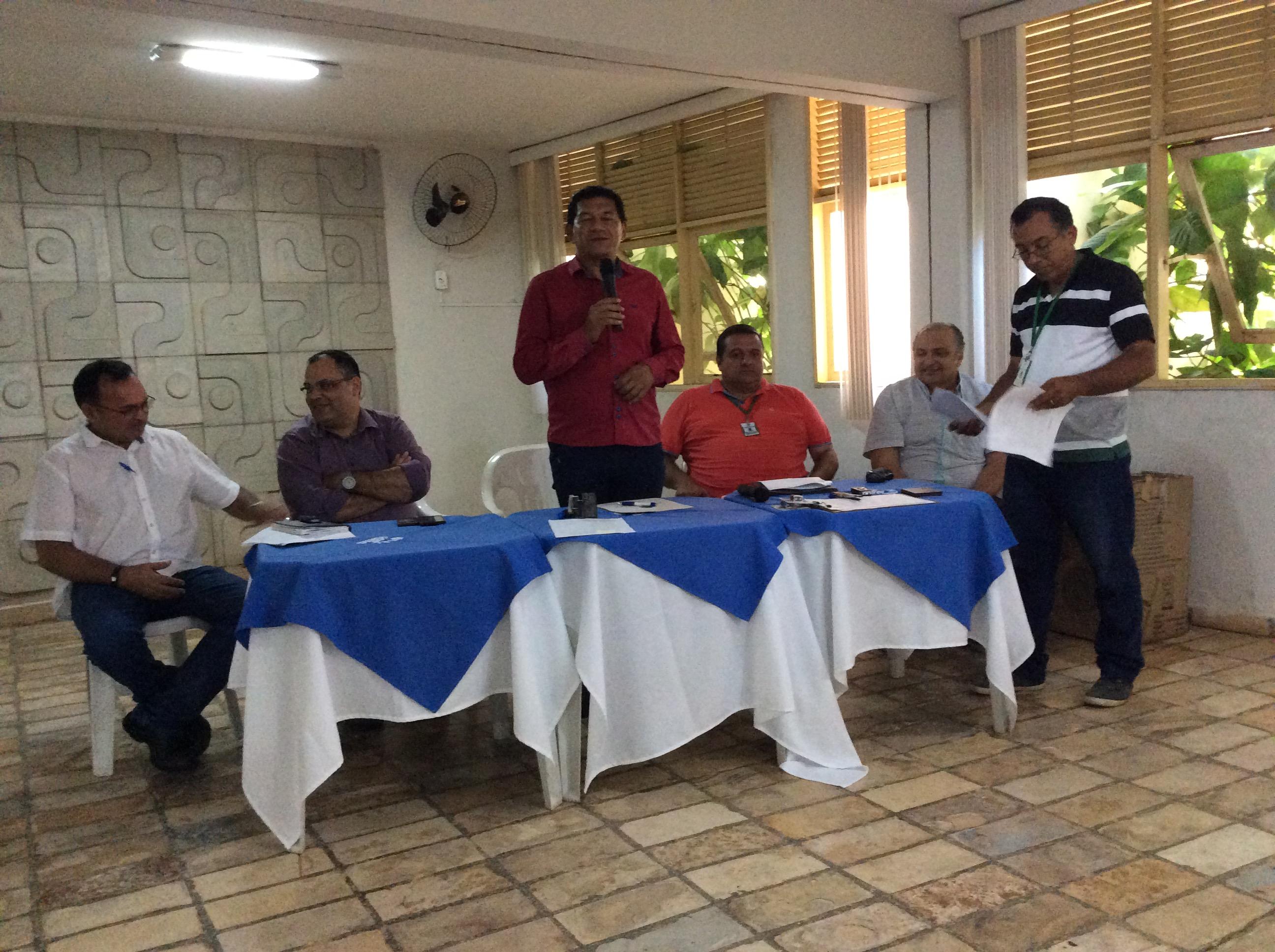 CSBH SALGADO se reúne em Barbalha
